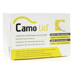 camolid compresses ophtalmiques
