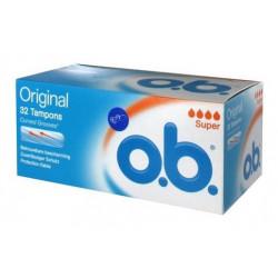 o.b. original tampons super