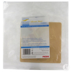 dermatix silicone sheet fabric 13 cm x 13 cm
