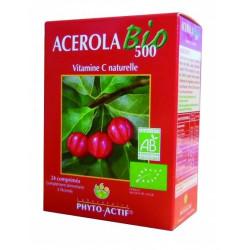 phyto-actif acerola bio 500 24 comprimés
