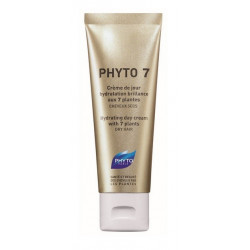 phyto phyto 7 crème de jour hydratation brillance aux 7 plantes 50 ml