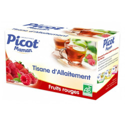 picot maman tisane allaitement fruits rouges 20 sachets