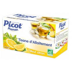 picot maman tisane allaitement tilleul citron 20 sachets