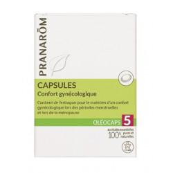 Pranarôm Oléocaps 5 Confort Gynécologique 30 Capsules