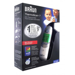 braun thermoscan 7 irt 6520 thermomètre auriculaire