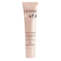 caudalie teint divin crème teintée minérale peaux mates 30 ml