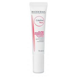 bioderma créaline gel-crème contour des yeux 15 ml