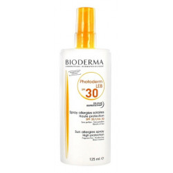 bioderma photoderm leb spf 30 spray allergies solaires 125 ml