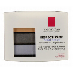 la roche-posay respectissime ombre douce 01 smoky gris 4.4 g