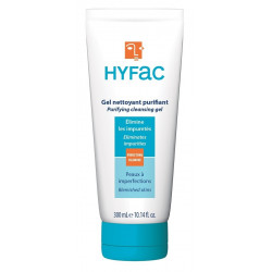 hyfac gel nettoyant purifiant 300 ml