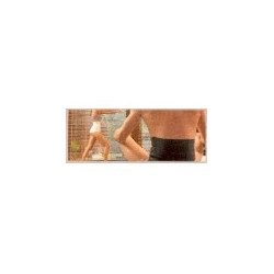 gibaud ceinture thermotherapy anthracite xl (106 à 120 cm) hauteur (27 cm)