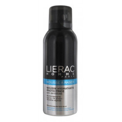 lierac homme mousse à raser hydratante protectrice 150 ml