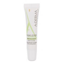aderma baume lèvres réparation intense 15 ml