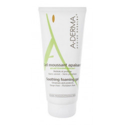 aderma gel moussant apaisant 200 ml