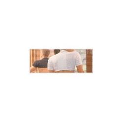 gibaud épaulière thermotherapy blanche m (45 à 55cm)