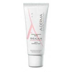 aderma rheacalm crème apaisante riche 40 ml