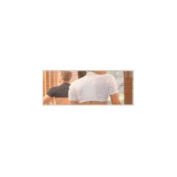 gibaud épaulière thermotherapy blanche s (35 à 45 cm)