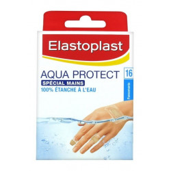 elastoplast aqua protect spécial mains 16 pansements