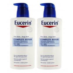 Eucerin Complete Repair Emollient Réparateur 10% Urée 2 x 400 ml