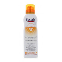 Eucerin Sun Protection Sun Brume Transparente Toucher Sec SPF 50 200 ml