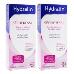Hydralin Sécheresse Crème Lavante 2 x 200 ml