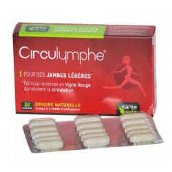 santé verte circulymphe 30 comprimés