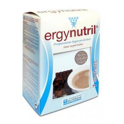 nutergia ergynutril préparations hyperprotéinées chocolat chaud 7 sachets