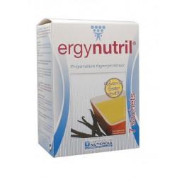 nutergia ergynutril préparations hyperprotéinées vanille 7 sachets