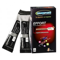 nutergia ergysport effort stick saveur pêche 6 sticks