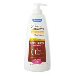 rogé cavaillès dermazero crème lavante hydratante peaux sèches 500 ml