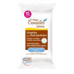 Rogé Cavaillès Intime Lingettes Avec Anti-Bactérien