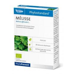 phytostandard mélisse 20 gélules