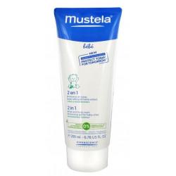 mustela 2 en 1 cheveux et corps 200 ml