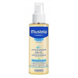 mustela huile de massage 100 ml
