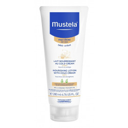 mustela lait nourrissant au cold cream 200 ml