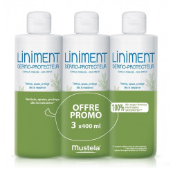 Mustela Liniment Dermo-Protecteur 3 x 400 ml