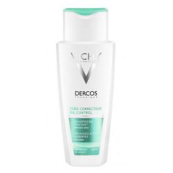 vichy dercos sébo-correcteur shampooing traitant 200 ml