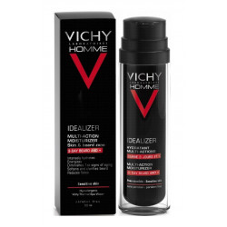 vichy homme idealizer hydratant multi-actions barbe 3 jours et + 50 ml