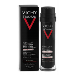 vichy homme idealizer hydratant multi-actions rasage fréquent 50 ml