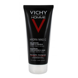 Vichy Homme Mag-C Gel Douche Hydratant Revigorant 200 ml