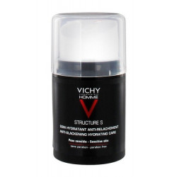 vichy homme structure s soin hydratant anti-relachement 50 ml