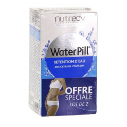 nutreov waterpill rétention d'eau 2 x 30 comprimés