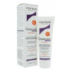 Noreva Cicadiane Protect Crème Réparatrice Photo-Protectrice SPF 50+ 40 ml