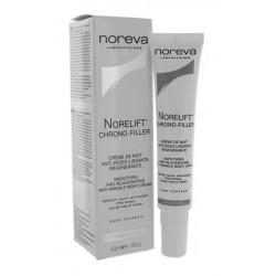 noreva norelift chrono-filler crème de nuit anti-rides lissante régénérante 40 ml