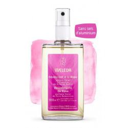 weleda déodorant à la rose 100 ml
