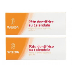 weleda pâte dentifrice au calendula 2 x 75 ml
