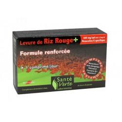 SANTÉ VERTE LEVURE DE RIZ ROUGE 60 COMPRIMÉS
