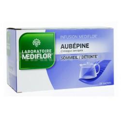 médiflor infusion aubépine 24 sachets