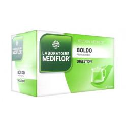 médiflor infusion boldo 24 sachets