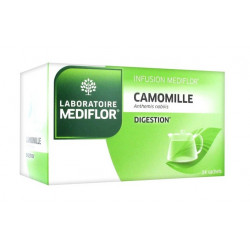 médiflor infusion camomille 24 sachets
